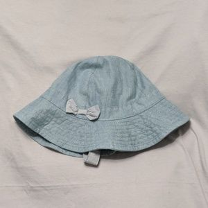 Carter's Blue Denim Hat - Size 3-9M
